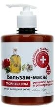 Kup Balsam-maska z olejami łopianowym, rycynowym i rozmarynowym - Domowy doktor