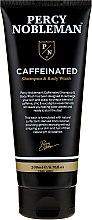 Kup Kofeinowy szampon do włosów i ciała dla mężczyzn - Percy Nobleman Caffeine Shampoo & Body Wash