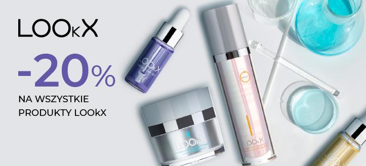 Zniżka 20% na wszystkie produkty LOOkX. Сeny uwzględniają zniżkę.
