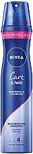 Lakier regenerujący do włosów Care & Hold - Nivea Styling Spray — фото N1
