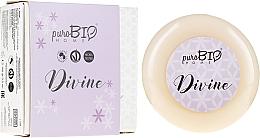 Kup Organiczne mydło w kostce z mydelniczką Drzewo sandałowe - PuroBio Cosmetics Home Organic Divine