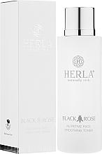Kup Odżywczy tonik wygładzający do twarzy - Herla Black Rose Nutritive Face Smoothing Toner