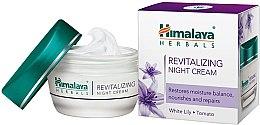 Rewitalizujący krem do twarzy na noc Biała lilia i pomidor - Himalaya Herbals Revitalizing Night Cream — фото N1