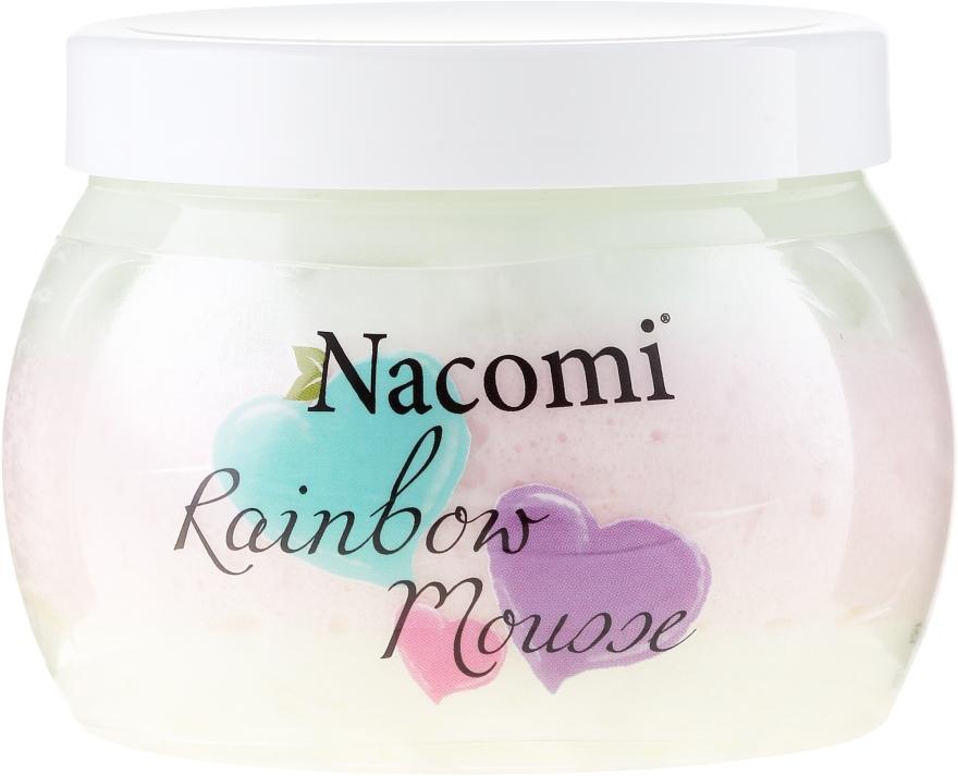 Tęczowy mus do ciała o zapachu słodkiego arbuza - Nacomi Rainbow Mousse