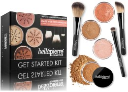 Kup Zestaw do makijażu - Bellapierre Get Started Kit Deep