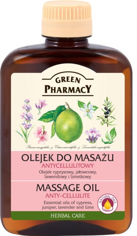 Antycellulitowy olejek do masażu - Green Pharmacy Herbal Care