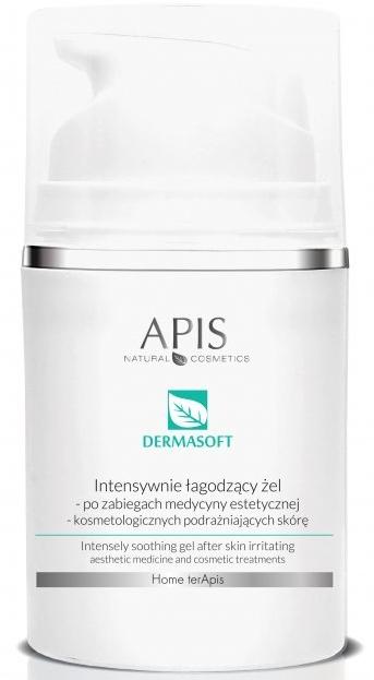 Intensywnie łagodzący żel po zabiegach podrażniających skórę - APIS Professional Home TerApis Dermasoft