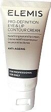 Kup Przeciwzmarszczkowy krem do skóry wokół ust i oczu - Elemis Pro-Definition Eye And Lip Contour Cream For Professional Use Only