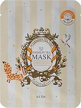 Kup Energizująca maseczka do twarzy Herbata Gyoolpy - A:t fox Energizing Gyoolpy Tea Mask