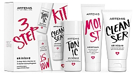Kup Zestaw - Artemis of Switzerland Skinlove 3 Step Daily Routine Kit (face/gel/30ml+face/tonic/30ml+gel/cr/20ml)