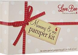 Kup Zestaw dla mamy i dziecka - Love Boo Mummy & Me Pamper Kit (b/lot 50 ml + sh/gel/shm 50 ml + b/butter 15 g + oil 100 ml + bath/soak 250 ml)