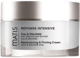 Kup Ujędrniający krem do szyi i dekoltu - Matis Réponse Intensive Restructuring & Firming Cream