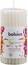 Kup Pieńkowa świeca zapachowa Grejpfrut i imbir, 120/58 mm - Bolsius True Moods New Energy Candle