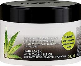 Kup Maska do włosów z olejem konopnym - India