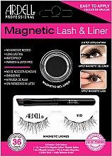 Kup Zestaw - Ardell Magnetic Lash & Liner 110 Lash Kit (eye/liner/2g + lashes/2pc)