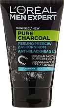 Kup Peeling do twarzy przeciw zaskórnikom dla mężczyzn - L'Oreal Paris Men Expert Pure Charcoal Anti-Blackhead Scrub
