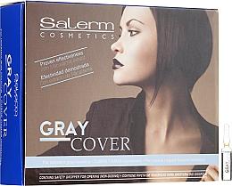 Preparat do lepszego farbowania siwych włosów - Salerm Gray Cover — фото N1