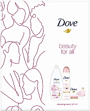Kup Zestaw - Dove Relaxing Care Gift Set (sh/gel/250ml + deo/spray/150ml + soap/100g)
