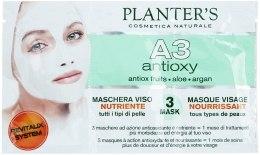 Kup Maska odżywcza Odżywianie i komfort - Planter's A3 Line Antioxy Facial Mask
