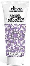 Kup Naprawczy szampon z olejem makadamia do włosów zniszczonych - Dr. Derehsan Shampoo