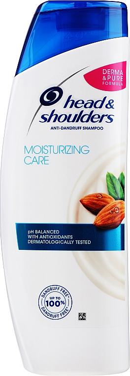 Szampon przeciwłupieżowy - Head & Shoulders Moisturizing Care Anti-Dandruff Shampoo