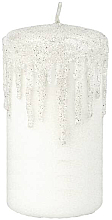 Kup Świeca dekoracyjna, 7x14 cm, biała - Artman