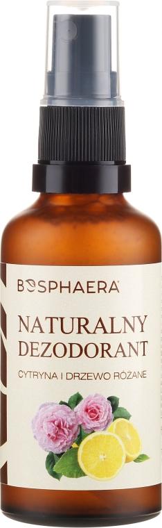 Naturalny dezodorant Cytryna i drzewo różane - Bosphaera