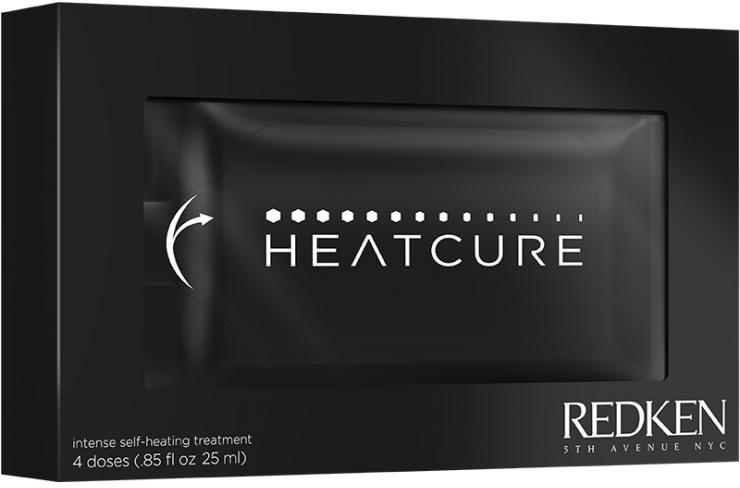 Kuracja odbudowująca włosy - Redken Heatcure Intense Self Heating Treatment — фото N1