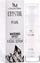Kup Perłowe serum wybielające do twarzy - SM Collection Crystal Pearl Facial Serum