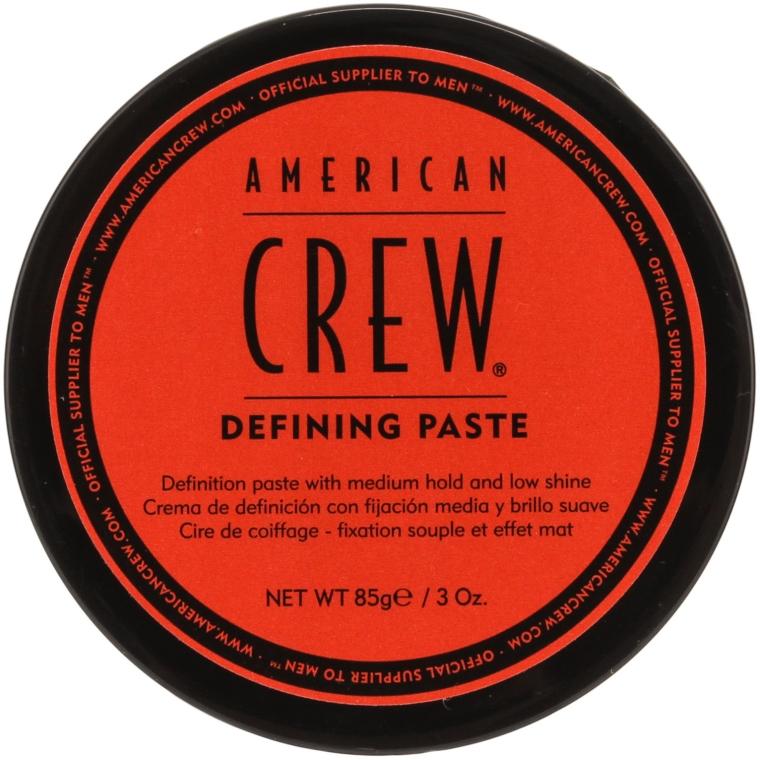 Pasta modelująca do włosów - American Crew Classic Defining Paste — фото N1