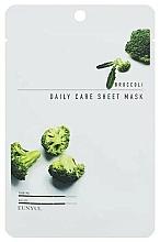 Kup Odmładzająca maska do twarzy na tkaninie z ekstraktem z brokuła - Eunyul Daily Care Mask Sheet Broccoli
