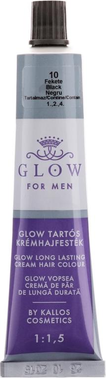 Farba do włosów - Kallos Cosmetics Glow Long Lasting Cream Hair Colour Man — фото N3