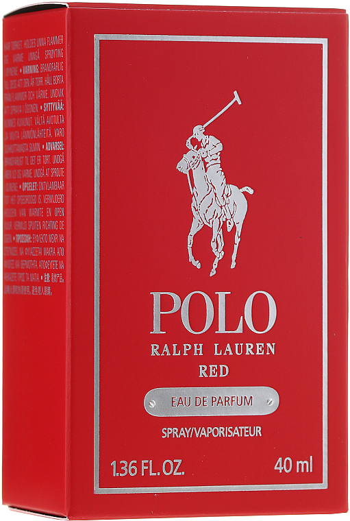 PRZECENA! Ralph Lauren Polo Red - Woda perfumowana * — фото N1