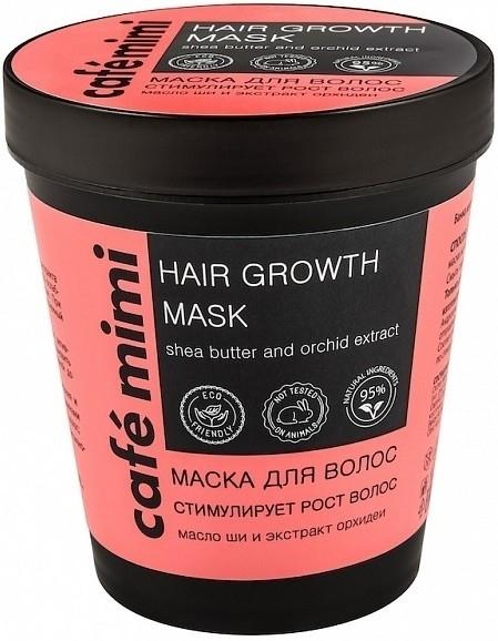 Maska stymulująca wzrost włosów - Café Mimi Hair Growth Mask