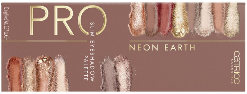 Paleta cieni do powiek - Catrice Pro Neon Earth Slim Eyeshadow Palette  — фото N2