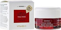 Kup Rozświetlający krem do twarzy na dzień do skóry normalnej i mieszanej - Korres Wild Rose Brightening And First Wrinkles Day Cream