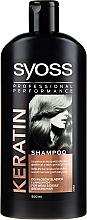 Kup Szampon do włosów suchych i pozbawionych energii - Syoss Keratin Hair Perfection Shampoo