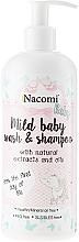 Kup PRZECENA! Emulsja do mycia dla dzieci - Nacomi Baby Mild Baby Wash & Shampoo *
