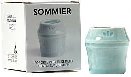 Kup Uchwyt na szczoteczkę do zębów, niebieski - NaturBrush Sommier Toothbrush Holder