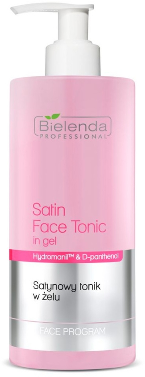 Satynowy tonik w żelu - Bielenda Professional Program Face Skin Satin Tonik