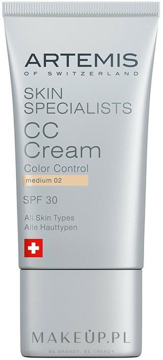 Krem CC - Artemis of Switzerland Skin Specialists CC Cream — фото Medium
