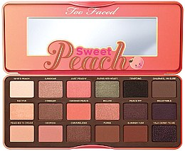 Kup Paleta cieni do powiek - Too Faced Sweet Peach Eye Shadow Collection