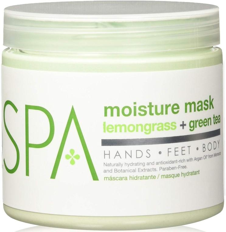 Nawilżająca maska do rąk, stóp i ciała Trawa cytrynowa i zielona herbata - BCL Spa Lemongrass Green Tea Moisture Mask — фото N1
