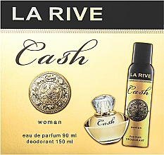 Kup La Rive Cash Woman - Zestaw (edp 90 ml + deo/spray 150 ml)