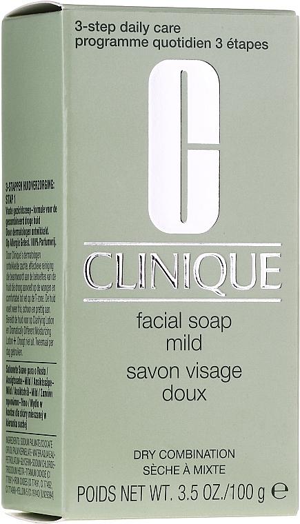 Mydełko do twarzy do skóry normalnej i wrażliwej - Clinique 3 kroki Facial Soap Mild