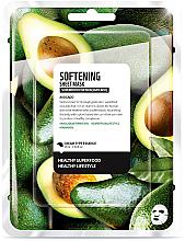 Kup PRZECENA! Maska do twarzy na tkaninie Awokado - Superfood For Skin Softening Sheet Mask *