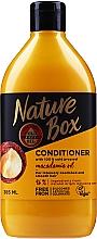 Kup Nawilżająca odżywka do włosów z olejem macadamia - Nature Box Macadamia Oil