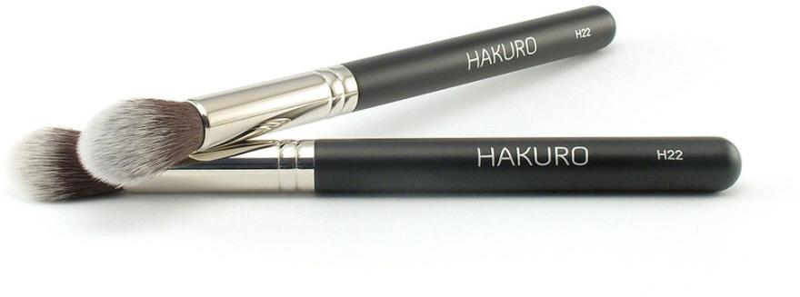 Pędzel do konturowania twarzy H22 - Hakuro