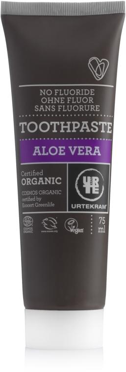 Organiczna aloesowa pasta do zębów - Urtekram Aloe Vera Toothpaste — фото N2