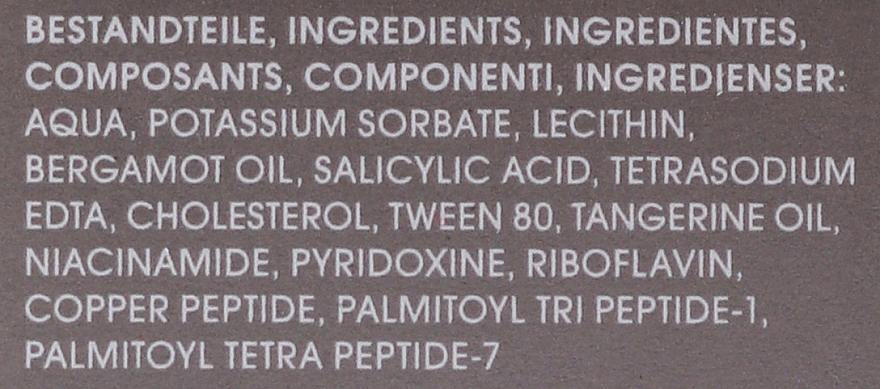 Spray do twarzy z witaminą B - M2Beaute Ultra Pure Solutions Cu-Peptide & Vitamin B Facial Nano Spray — фото N4
